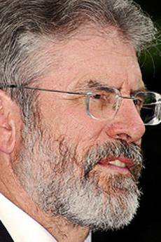 Gerry Adams in profile