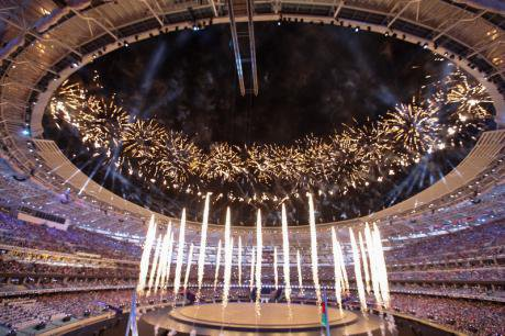 The official opening ceremony of the European Games in Baku. Photo (c) Aziz Karimov via Demotix