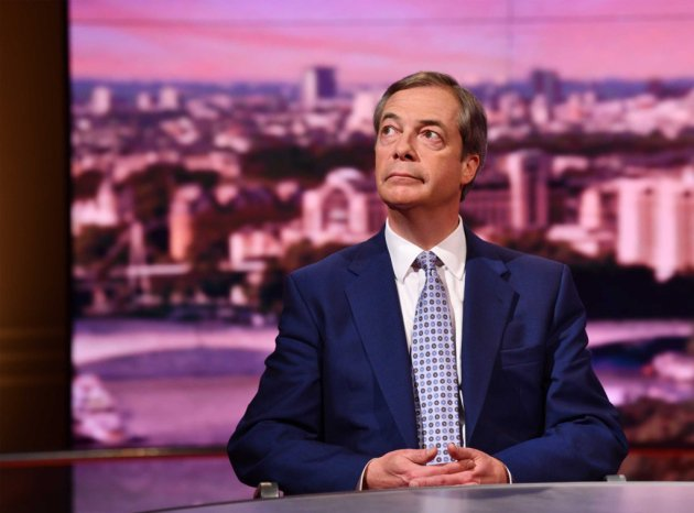 Nigel Farage on the BBC's Andrew Marr show