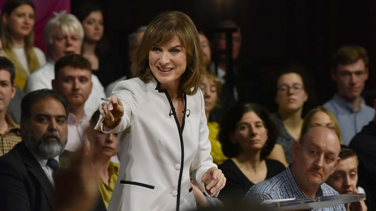 Question Time host Fiona Bruce said she was shocked by the level of toxicity on the programme.