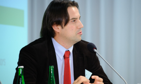Dimitar Bechev at a meeting of the European Council on Foreign Relations. Flickr/Stephan Rohl. Some rights reserved.
