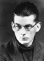 young Samuel Beckett