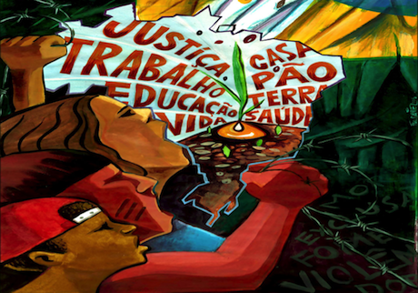 "Poster from the campaign ""O Grito dos Excluídos"" (""The Scream of the Excluded""). Some rights reserved."