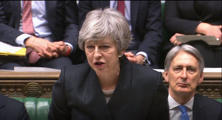 Theresa May addressing the House of Commons, 11 April 2019