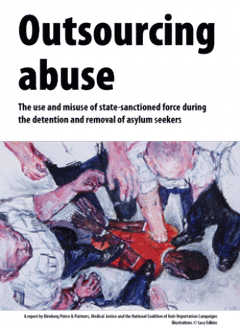 Outsourcing Abuse report front cover