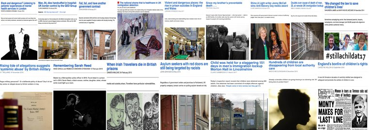 collage of shine a light articles
