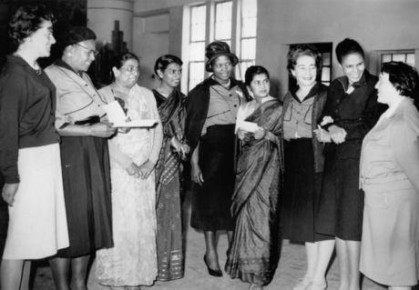Members of the Federation of South African Women (FEDSAW) in the 1950s.