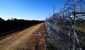 Border between Greece and Turkey, November 2012