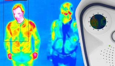 Thermal imaging at Heathrow