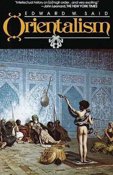Edward Said's Orientalism - first edition cover. Wikicommons. Some rights reserved.