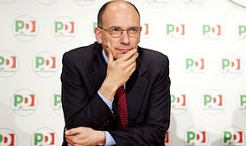 New Italian PM Enrico Letta. Demotix/Ruggero Delfini. All rights reserved.