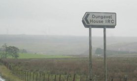 Dungavel IRC in Scotland