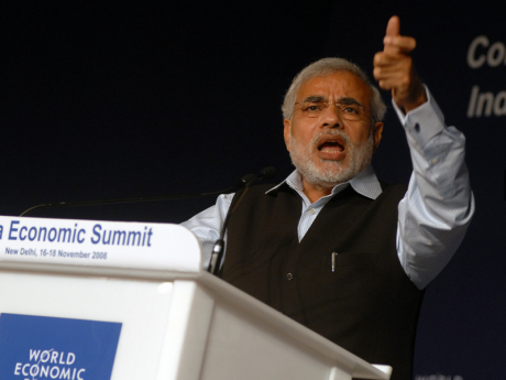 Narendra Modi. Flickr/World Economic Forum. Some rights reserved.