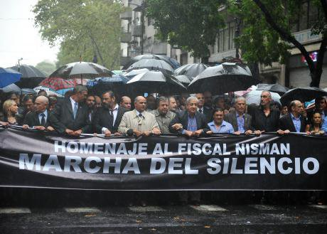 Demonstration in Buenos Aires, February, 2015.