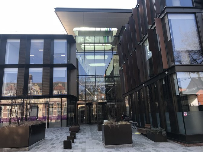 Northamptonshire County Council HQ - financially troubled and recently criticised by Ofsted inspectors
