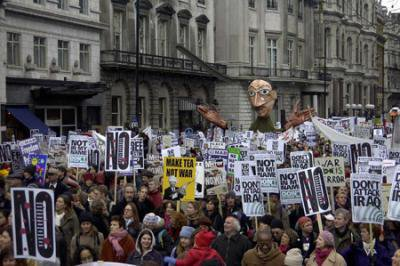 2003 No to Iraq march.