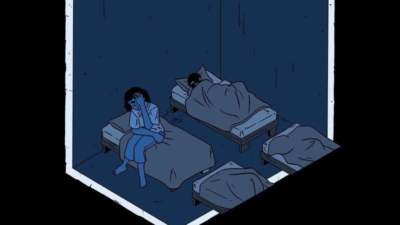 Overcrowding, bed bugs and terrible food: what life is like in temporary accommodation.