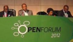 photo of panel at the OpenForum