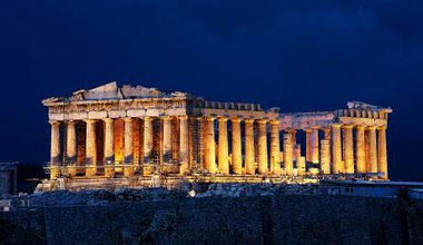 The Acropolis of Athens. (Fair use)