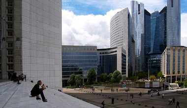 La Défense, Paris' financial district. Demotix/Theofor Frundt. All rights reserved.