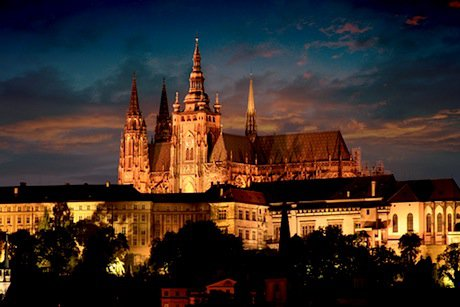 A view of Prague Castle. Shutterstock/Ivo Brezina. All rights reserved.