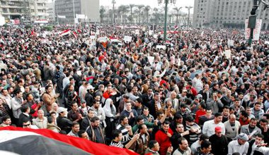 Protests in Cairo Egypt 2011
