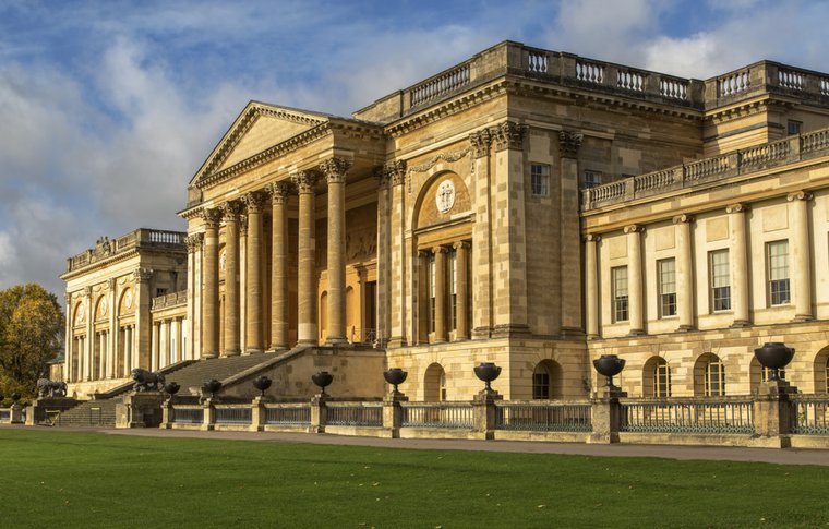 Stowe school, where fees are £12,700 a term