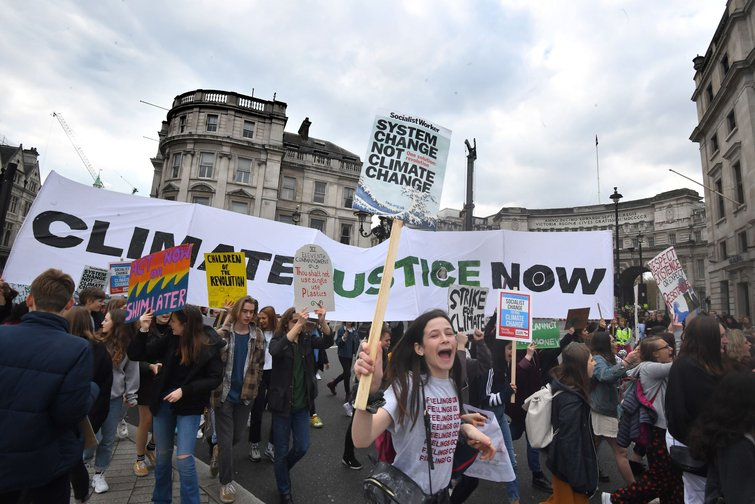 School Climate Strike, April 12 2019, London