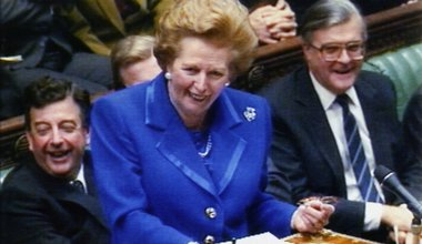 Margaret Thatcher speaking in the House of Commons, 27 November 1990.