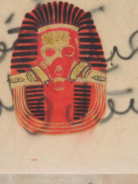 Gasmask pharaoh, captured 22 November 2014
