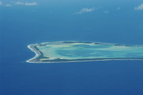 Tuvalu from above