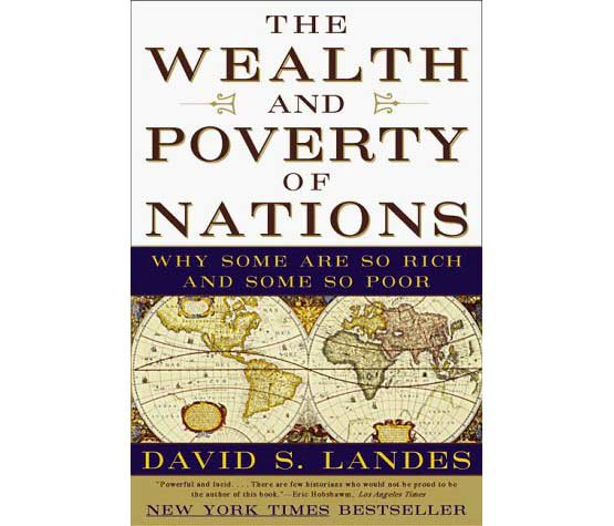 The Wealth And Poverty Of Nations Why Some Are So Rich And Some So Poor By David S Landes