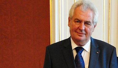 Czech president Milos Zeman. Flickr/Latvian Foreign Ministry. Some rights reserved.